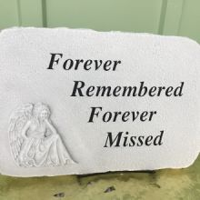 Stone: G405 Forever Remembered Angel