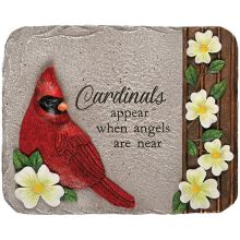 Stone: C12717 Cardinals appear dogwood accent