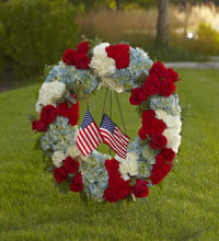 Wreath: To Honor One\'s Country Wreath