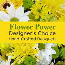 Deal: Yellow Colors Florist Designed Bouquet