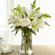 Eternal Friendship Vase- Whites