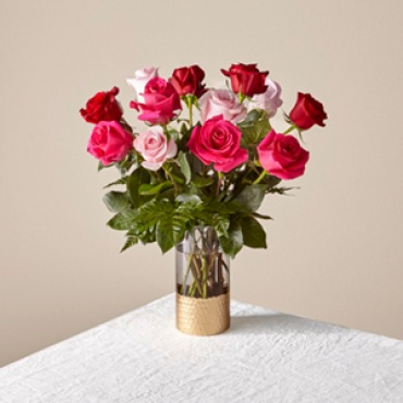 Valentine: FTD Rose Colored Love Bouquet