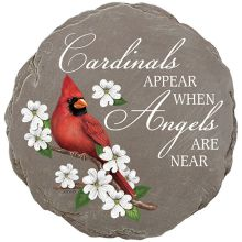 Stone: C43430 Cardinal with Angels are near