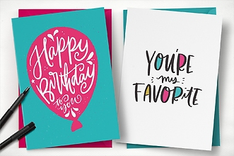 Card: Full Size Greeting Card