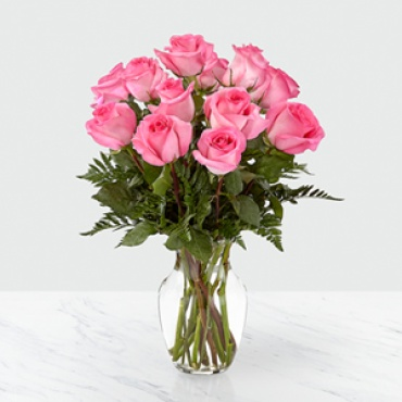 Rose: Smitten Pink Rose Bouquet