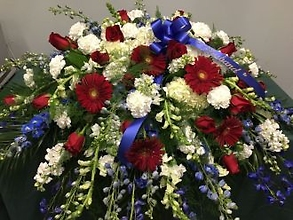 Casket Cover: Patriotic 2