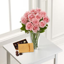 Rose: Pink Rose & DeBrand Chocolate Box