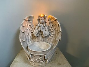 Angel: Lighted Crown Bowl