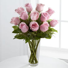 Rose: Pink Roses in French Vase