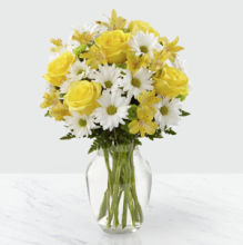 Sunny Sentiment Bouquet